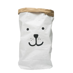 Storage . Reusable Paper Sack - Large / Bear