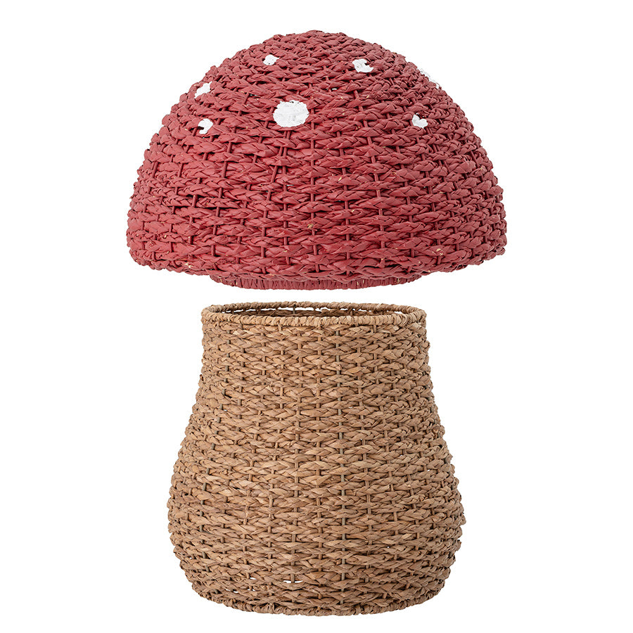 Storage . Basket With Lid - Toadstool