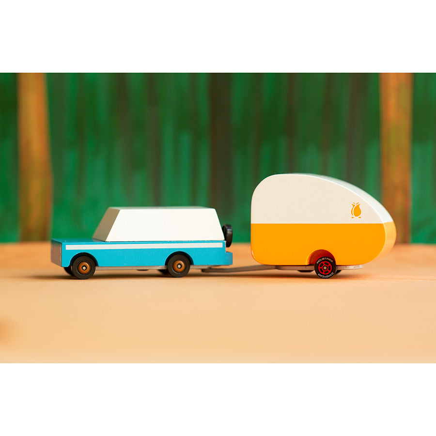 Toy . Wooden Candy Car - Rosebud Trailer