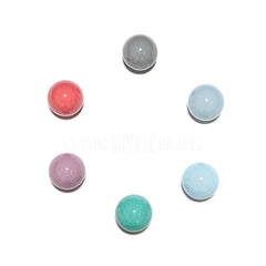 Wall Hook . Ceramic Sphere - Light Blue