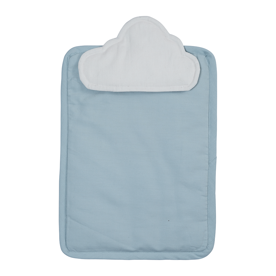 Doll Bedding . Organic Cotton - Cloud