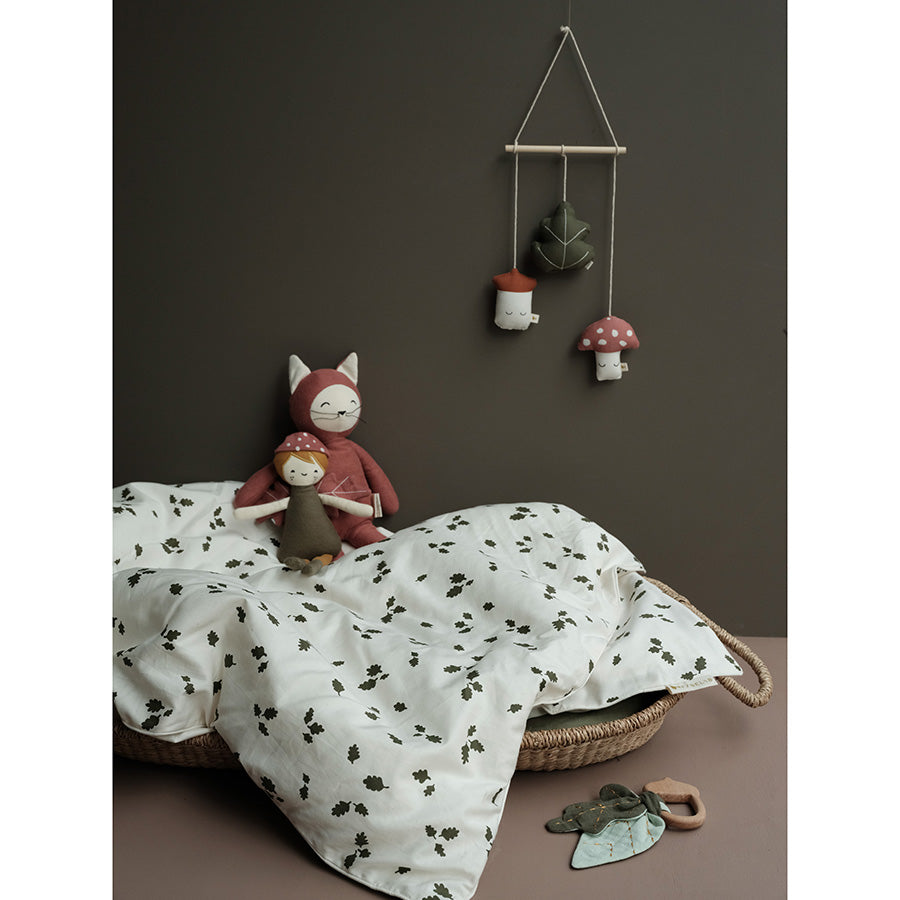 Bedding . Organic Cotton - Leaves / Toddler