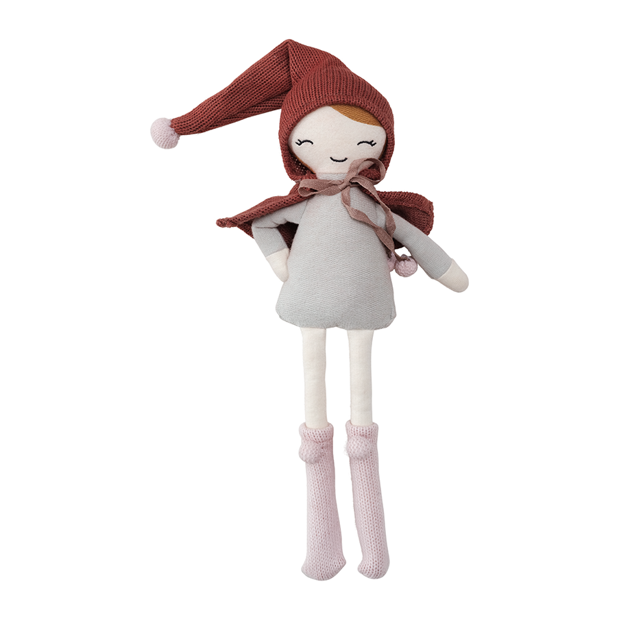 Soft Toy . Organic Cotton Doll - Elf Girl