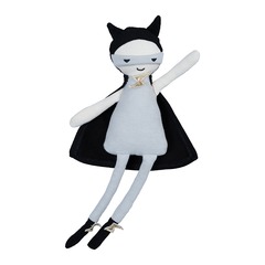 Soft Toy . Organic Cotton Doll -  Little Superhero