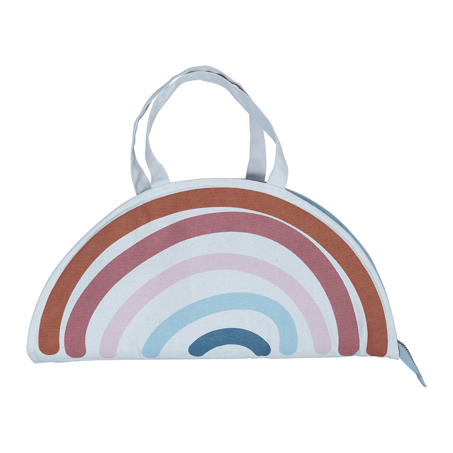 Soft Toy . Play Purse - Rainbow