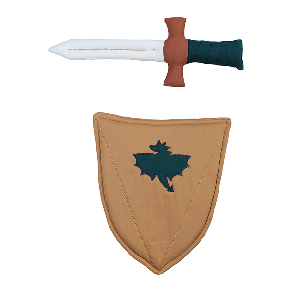 Toy . Organic Cotton Sword & Shield