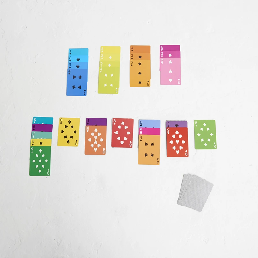 Playing Cards . Rainbow