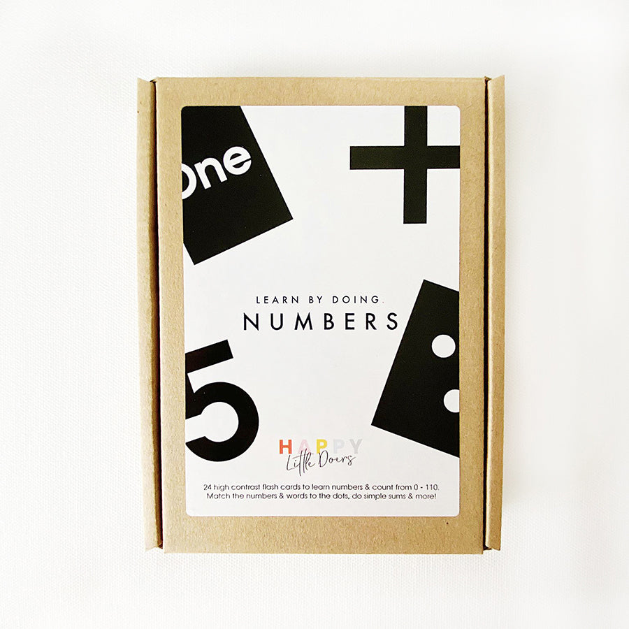 Flash Cards . Learn By Doing - Numbers
