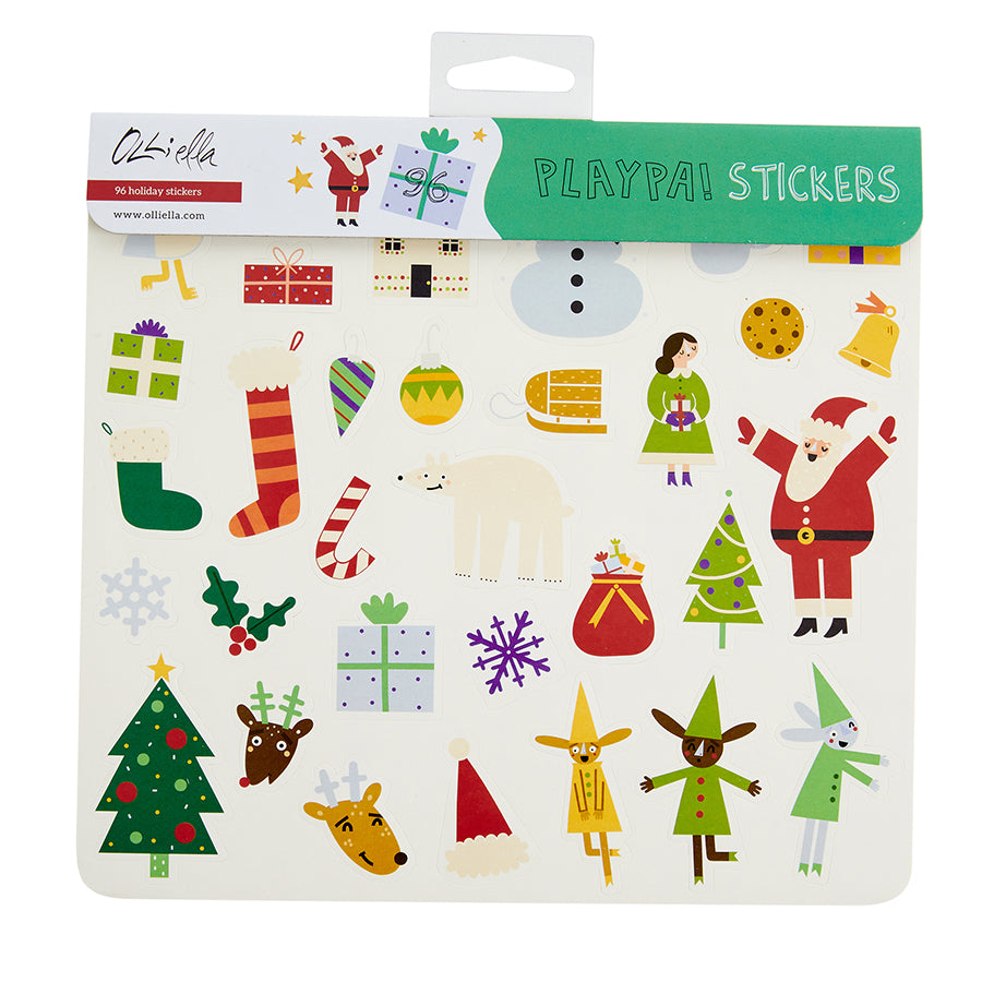 Playpa Stickers . Paper Activity Stickers / Holiday