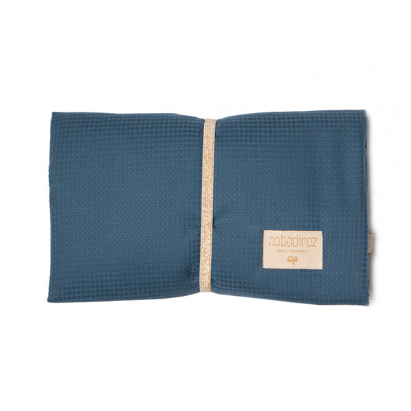 Waterproof Changing Pad . Mozart - Night Blue