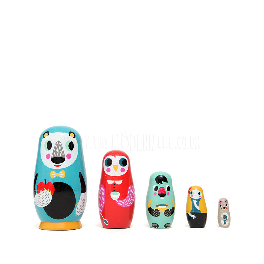 Toy . Nesting Dolls - Into The Woods