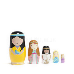 Toy . Nesting Dolls - Princesses