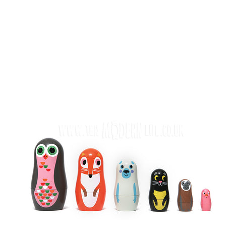 Toy . Nesting Dolls - Animals 2