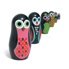 Toy . Nesting Dolls - Pocket Owls