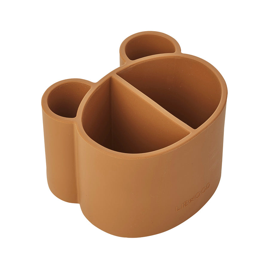 Storage . Silicone Divided Pot . Mustard