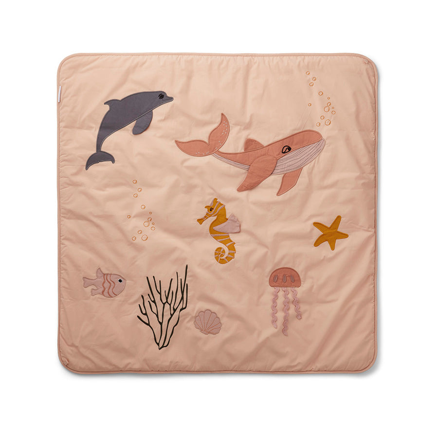 Activity Play Mat . Glenn - Sea Creature / Rose Mix