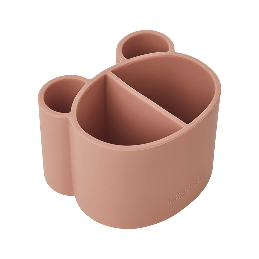 Storage . Silicone Divided Pot . Dark Rose