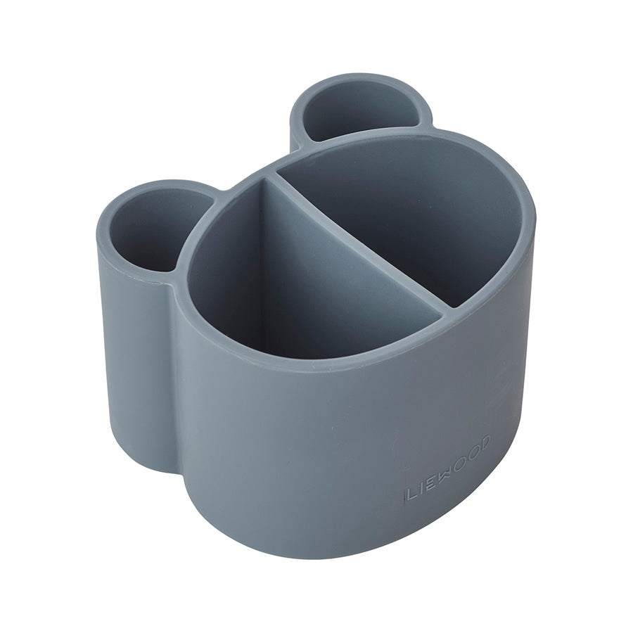 Storage . Silicone Divided Pot . Sea Blue