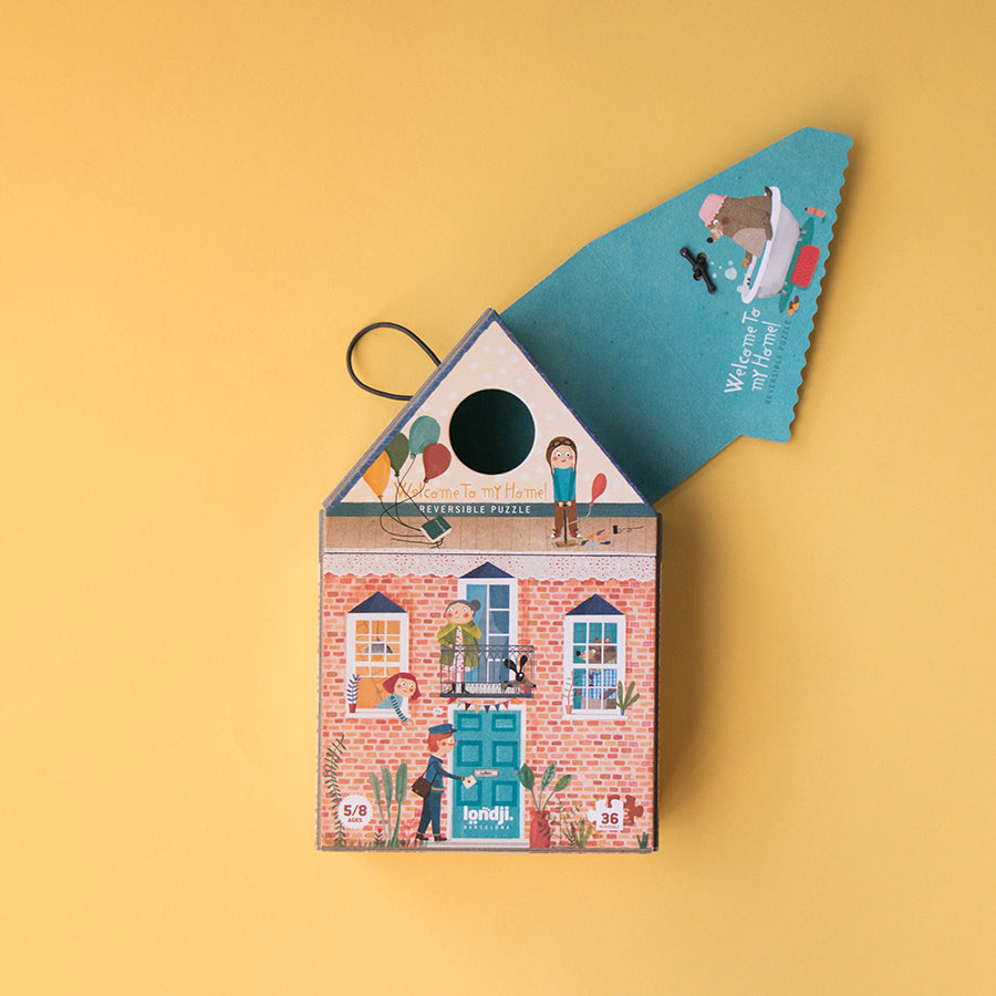 Toy . Puzzle - Welcome To My Home / Reversible
