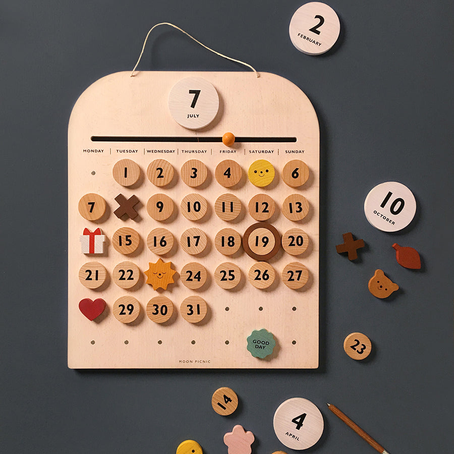 Toy / Learning . Perpetual Calendar