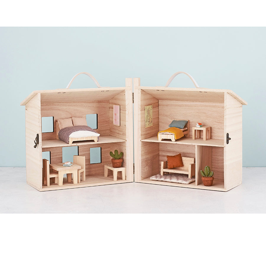 Dolls House Furniture . Holdie House - Single Bed Set