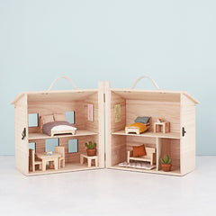Dolls House Furniture . Holdie House - Double Bed Set