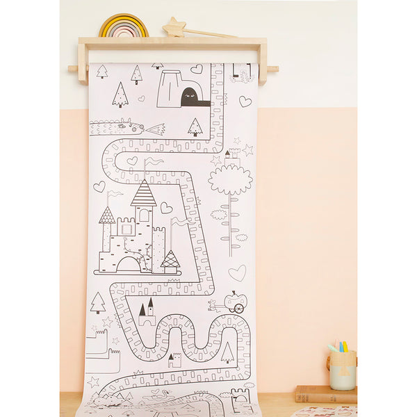 Playpa . Paper Activity Roll / Fairy Tale