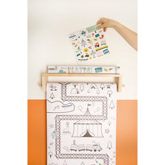 Playpa Stickers . Paper Activity Stickers / Forest