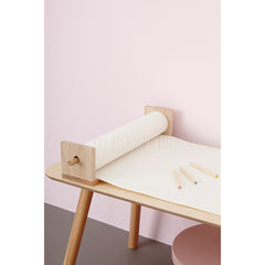 Pollie Shelf / Paper Holder . Natural - Wood