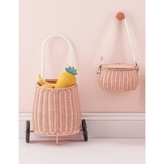 Storage . Small Bag / Mini Chari - Rose Pink
