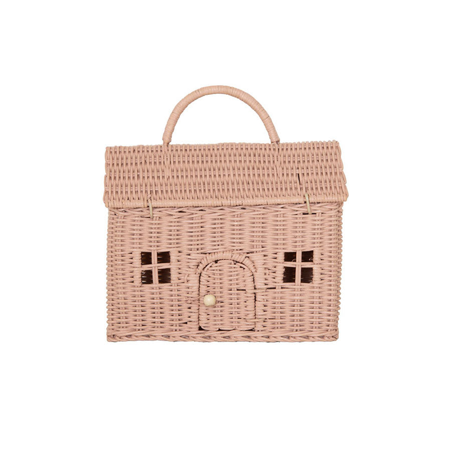 Storage . Bag / Basket - Casa Clutch / Rose