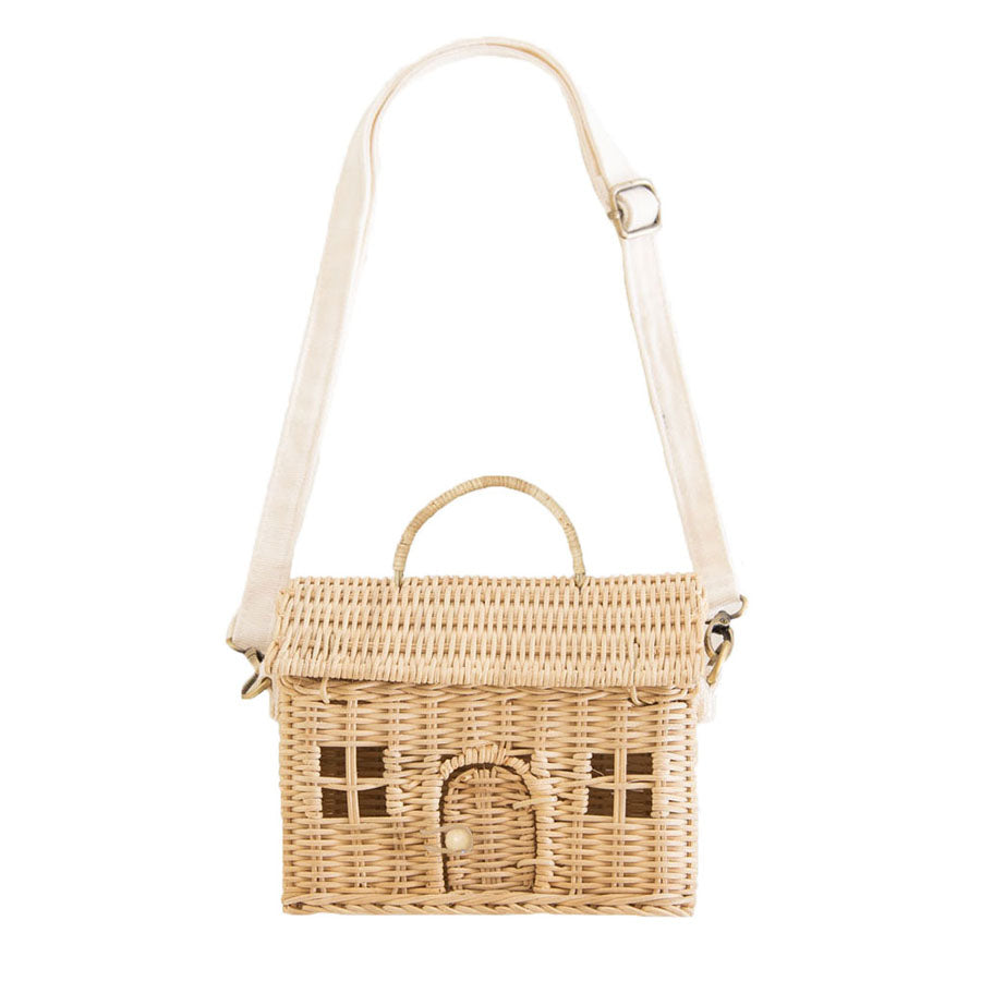 Storage . Small Bag / Basket - Casa / Straw