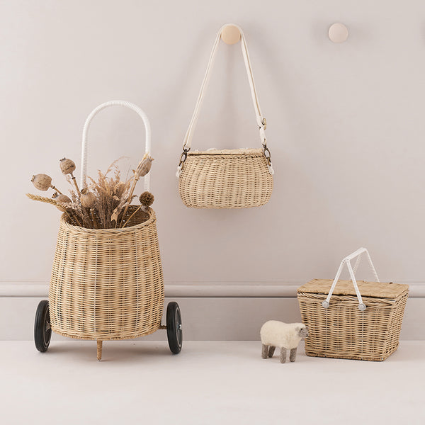Olli Ella . Storage . Small Bag   Mini Chari - Straw – This Modern Life 258acd43733c0