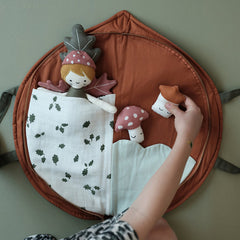 Soft Toy . Play Purse - Leaf