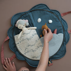 Soft Toy . Play Purse - Shell