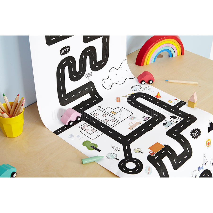 Playpa . Paper Activity Roll / Road