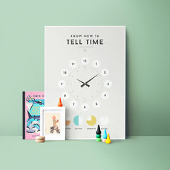Poster . Learning - Tell The Time
