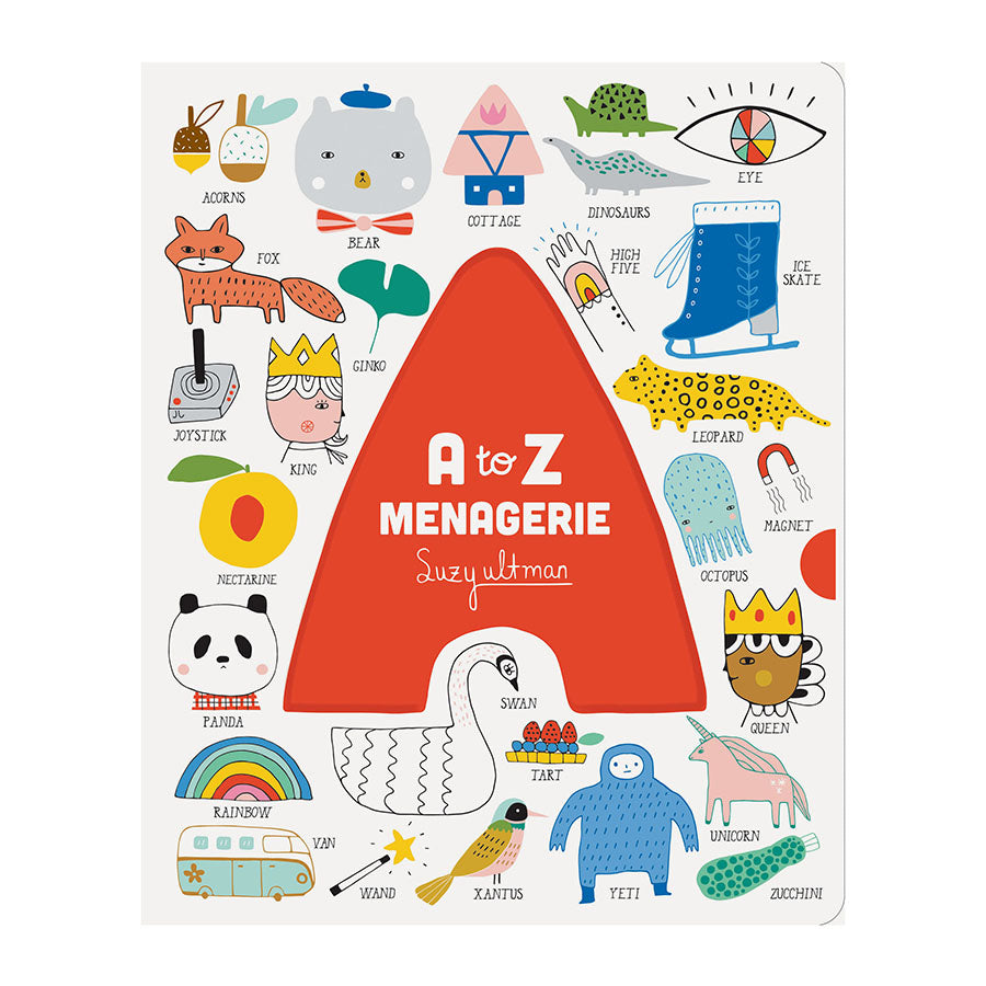 Book . Board Book - A-Z Menagerie