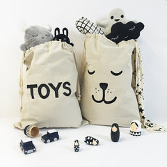 Storage . Cotton Bag - Toys / Large