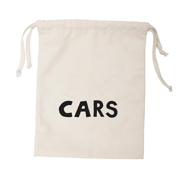 Storage . Cotton Bag - CARS / Small