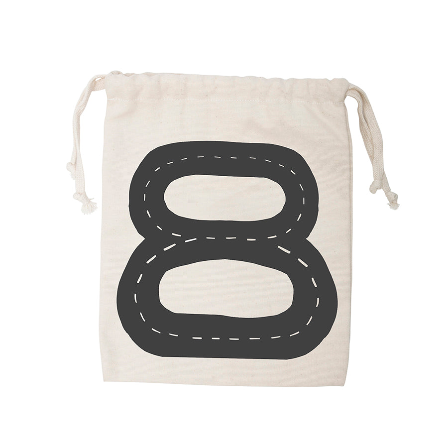 Storage . Cotton Bag - Car Track / Small