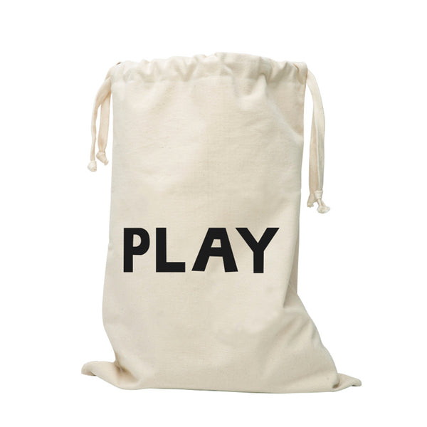 Storage . Cotton Bag - PLAY / Large