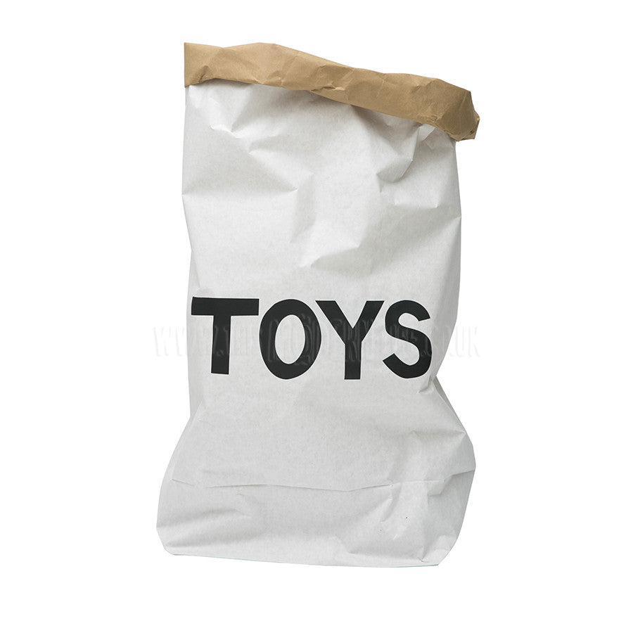 Storage . Reusable Paper Sack - Large / Toys