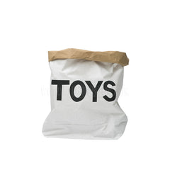 Storage . Reusable Paper Sack - Small / Toys