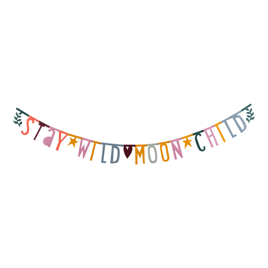 Garland . DIY Letter Banner - Handwriting Style / Boho Chic