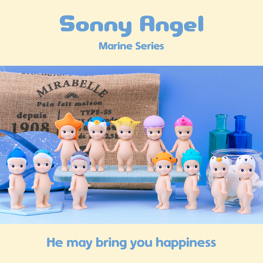 Toy . Sonny Angel - Marine Series