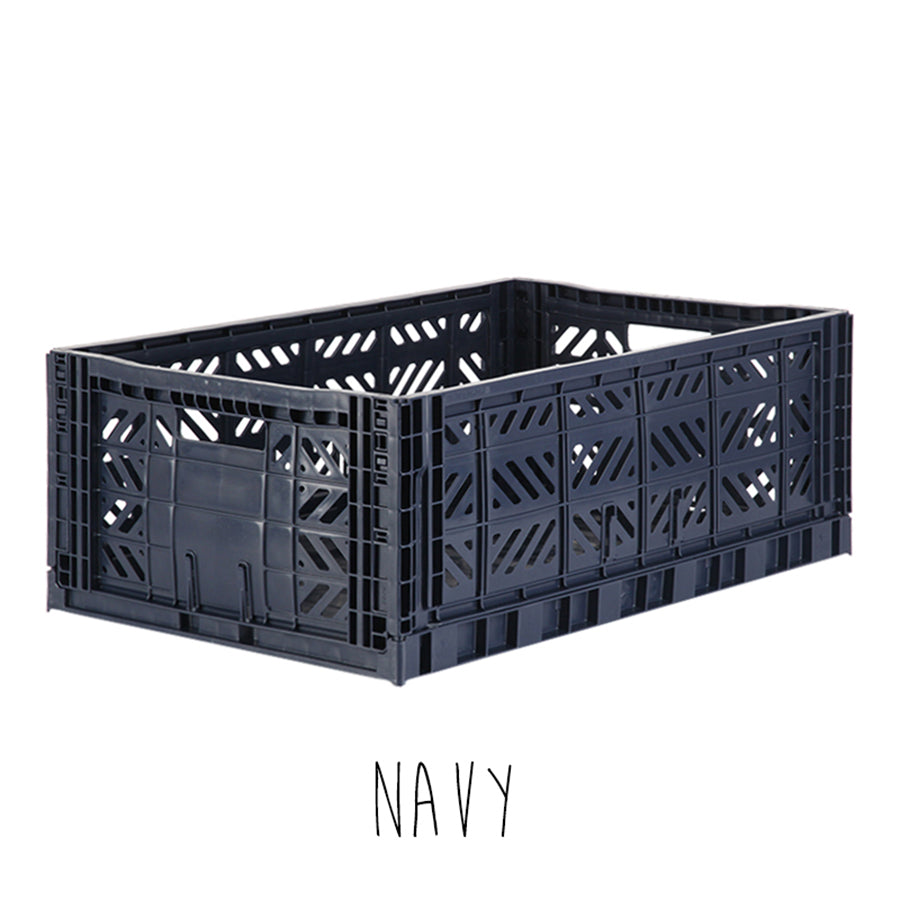 Storage . Folding Crate - Maxi / Various Colours
