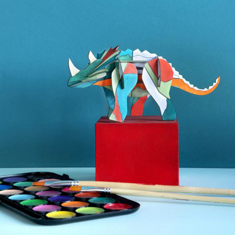 Toy / Decor . 3D Figures - D.I.Y. / Triceratops