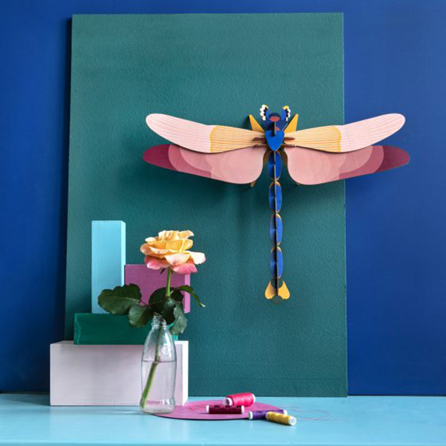 Wall Decor . BIG Insects - Giant Dragonfly