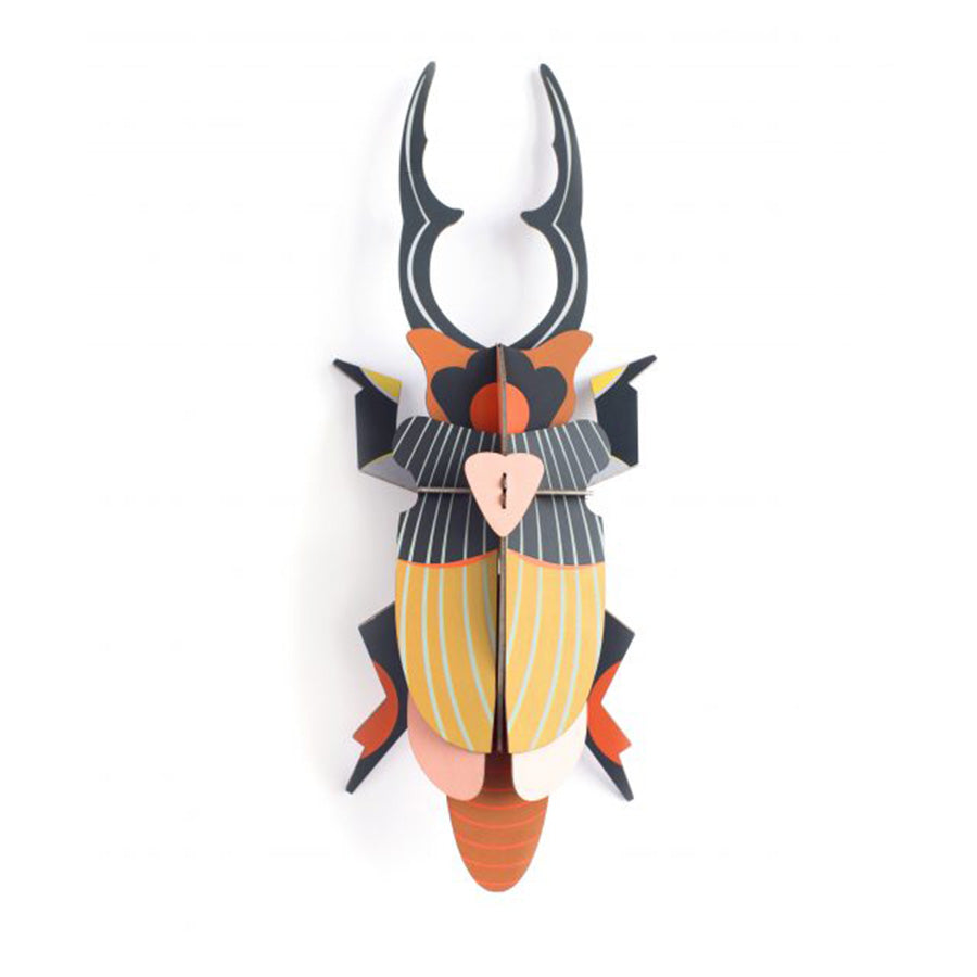 Wall Decor . BIG Insects - Giant Stag Beetle